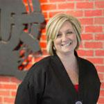 Master Sara Schwab, of Valor Martial Arts, Dayton, Ohio