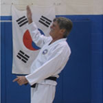 Mr. Barry Reis, 2nd Dan Black Belt